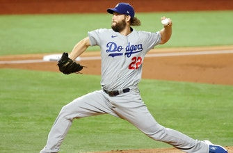 Clayton Kershaw breaks all-time postseason record with 206th career playoff strikeout