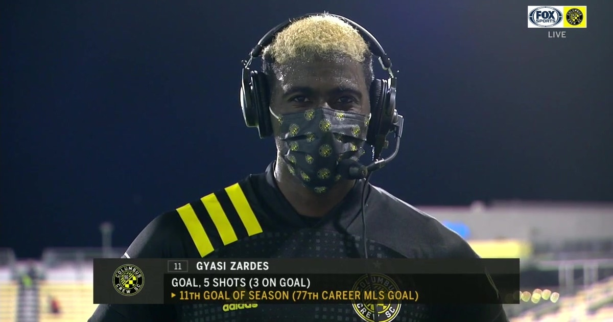 Gyasi Zardes reflects on milestone night in Crew's big win over New York City FC (VIDEO)