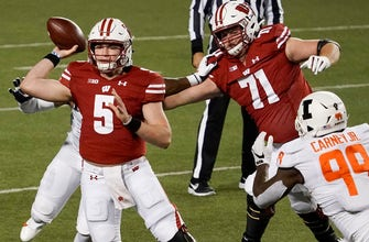 Badgers' COVID-19 issues demonstrate potential QB pitfall