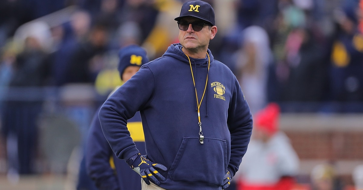 "Jim Harbaugh on facing Michigan State: ""Play after play, its going to be all out"""