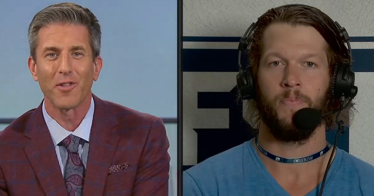 Clayton Kershaw comments on whether lack of fans has helped him this postseason