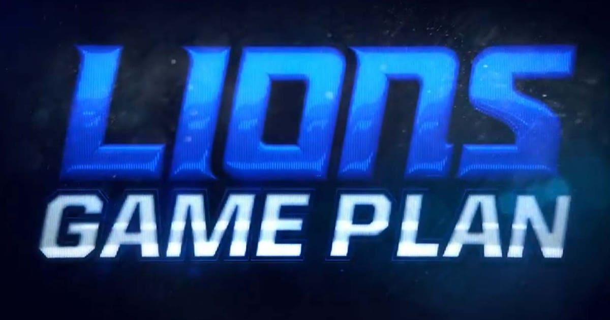 Lions Game Plan 10.22.20 (VIDEO)