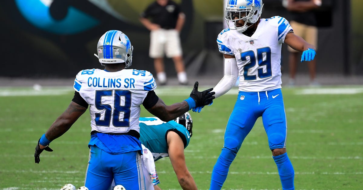 Lions finally hold lead and look sharp on defense