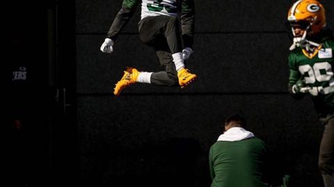 Aaron Jones, Packers running back