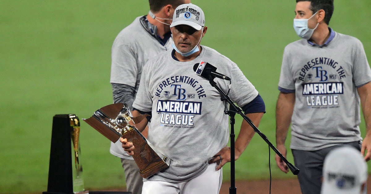 Kevin Cash selected as finalist for AL Manager of the Year after leading Rays to World Series