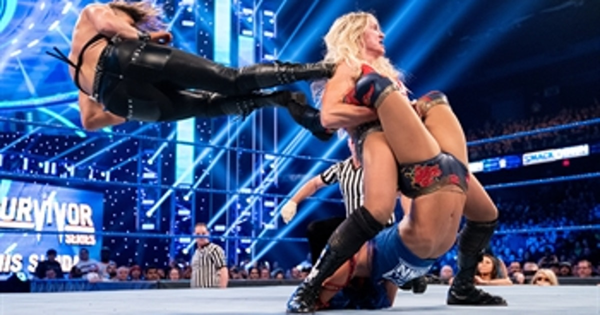Charlotte Flair vs. Rhea Ripley vs. Sasha Banks – Triple Threat Match: SmackDown, Nov. 22, 2019 (VIDEO)