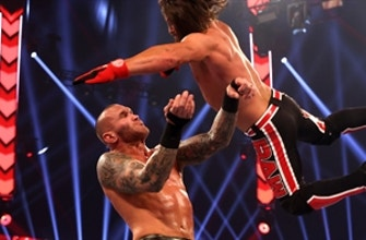 Randy Orton vs. AJ Styles – Winner Advances to Triple Threat Match for WWE Title opportunity: Raw, Nov. 23, 2020