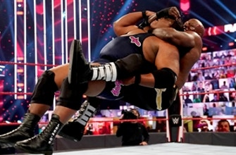 Keith Lee vs. Bobby Lashley – Winner Advances to Triple Threat Match for WWE Title opportunity: Raw, Nov. 23, 2020