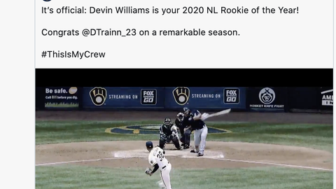 Devin Williams, Brewers pitcher