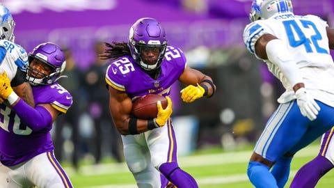 Alexander Mattison, Vikings running back