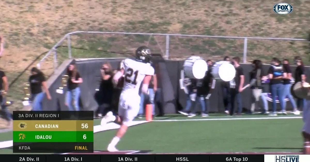 HIGHLIGHTS: Canadian vs Idalou | High School Scoreboard Live (VIDEO)