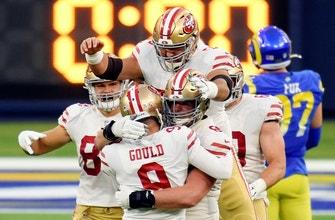 49ers' Robbie Gould drills game-winning 42-yard field goal vs. Rams