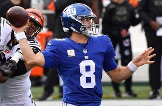 If Daniel Jones is available I'm taking the Giants +7.5 vs. Seahawks – Colin Cowherd