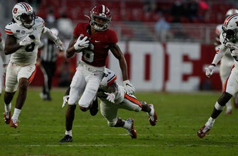 Watch Alabama's Devonta Smith dominate The Iron Bowl with 171 receiving yards and two TDs