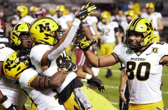 Mizzou controls first half, holds off South Carolina for 17-10 victory