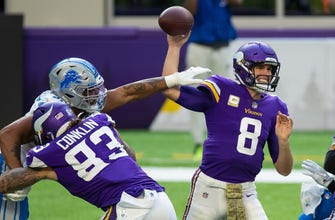 Viking roll over Lions, 34-20; Stafford leaves in 4th quarter for concussion eval (WITH VIDEO)