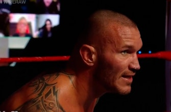The Fiend shakes up the match as Randy Orton and AJ Styles battle for title opportunity