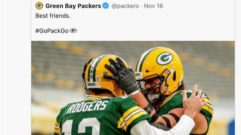 David Bakhtiari, Packers left tackle