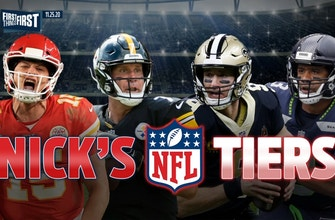 Nick Wright breaks down his NFL Tiers entering Week 12 | FIRST THINGS FIRST