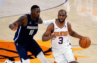 Booker, Bridges lead new-look Suns past Mavericks 106-102