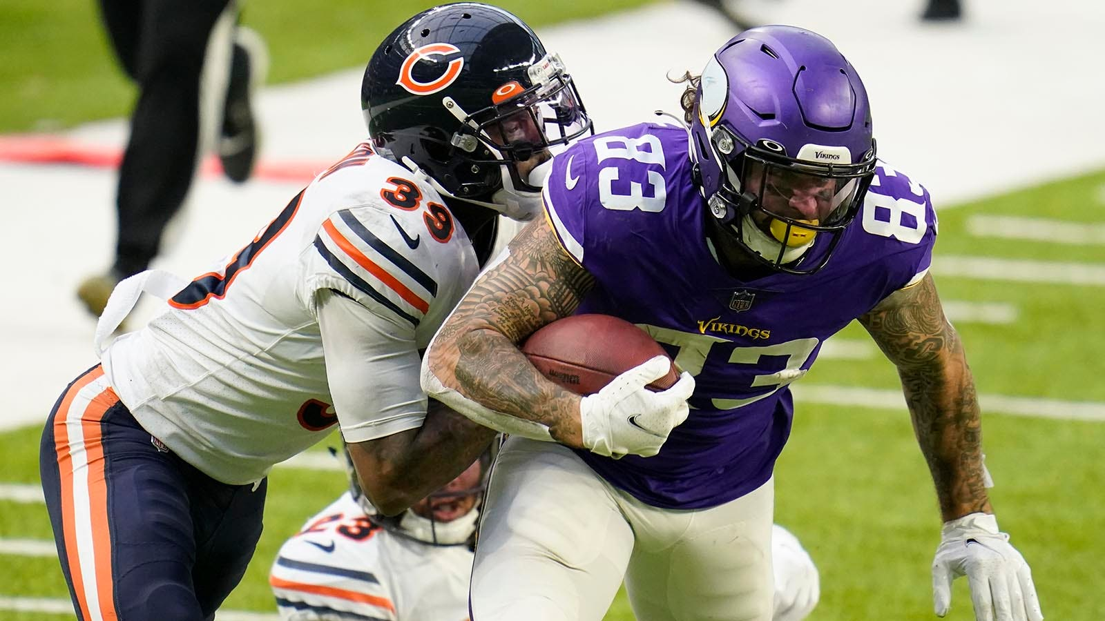 Vikings Snap Counts: Tyler Conklin continues to shine   FOX Sports