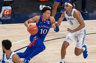 Wilson's second-half surge lifts Kansas to 65-62 victory over Kentucky