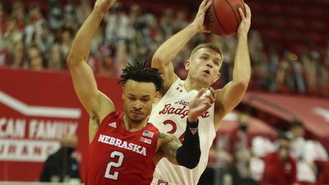 Badgers Overcome Worst Shooting Of Season To Beat Nebraska 67-53