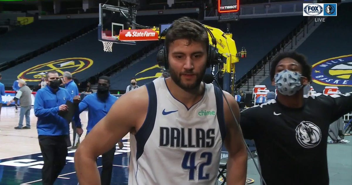 Maxi Kleber on the Mavs Coming From Behind to get the OT Win
