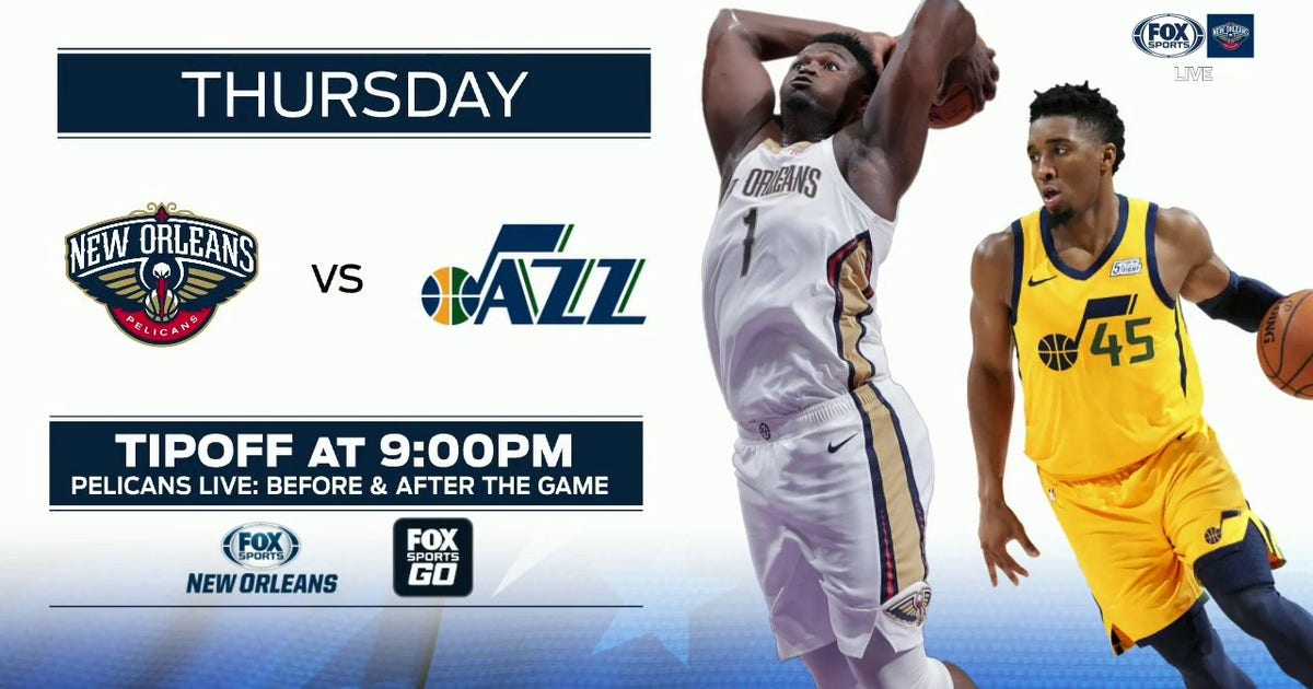 PREVIEW: New Orleans at Utah | Pelicans Live (VIDEO)