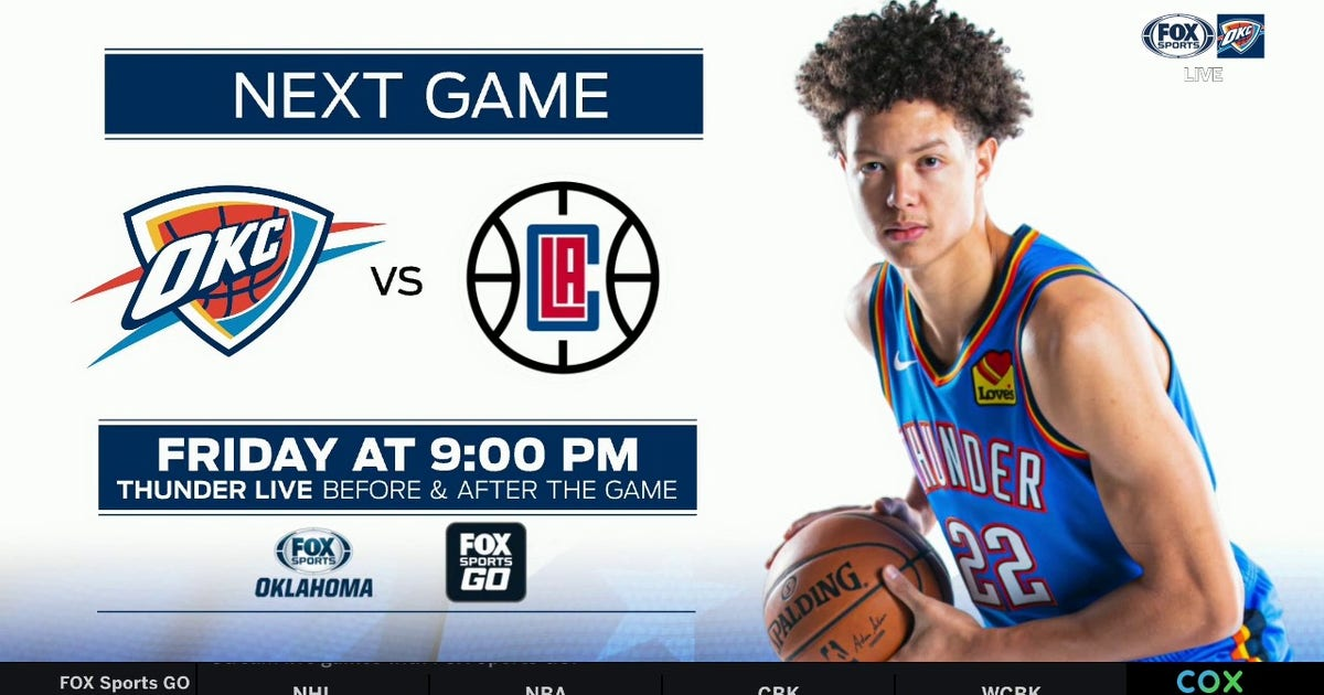PREVIEW: Oklahoma City at LA Clippers | Thunder Live (VIDEO)