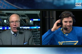 Perron on Blues breaking their power-play drought: 'That was huge'