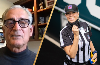 Mike Pereira on Super Bowl LV officiating crew, Sarah Thomas being named first female official to work a Super Bowl.
