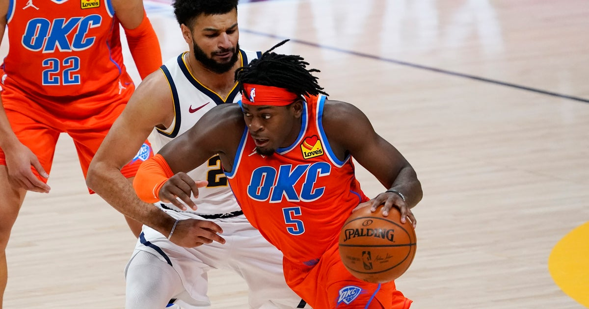 Luguentz Dort scores 20 for OKC in the 119-101 loss to Denver