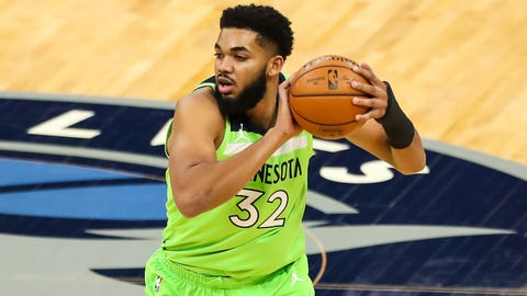 Karl-Anthony Towns living with COVID-19