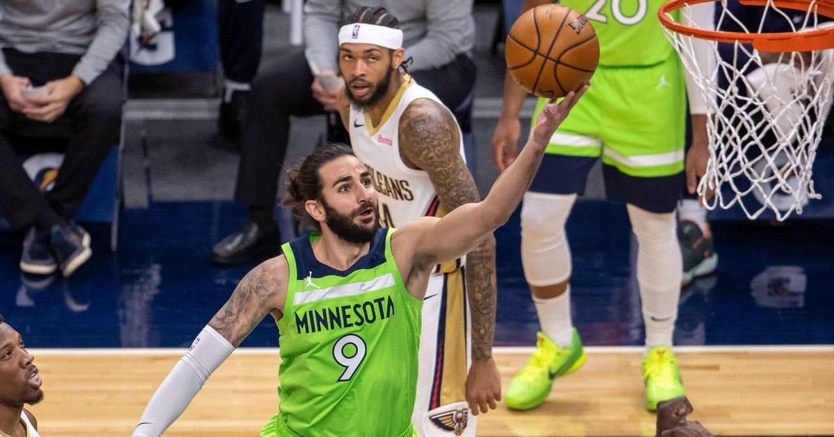 Timberwolves snap losing streak, defeat Pelicans 120-110 | FOX Sports