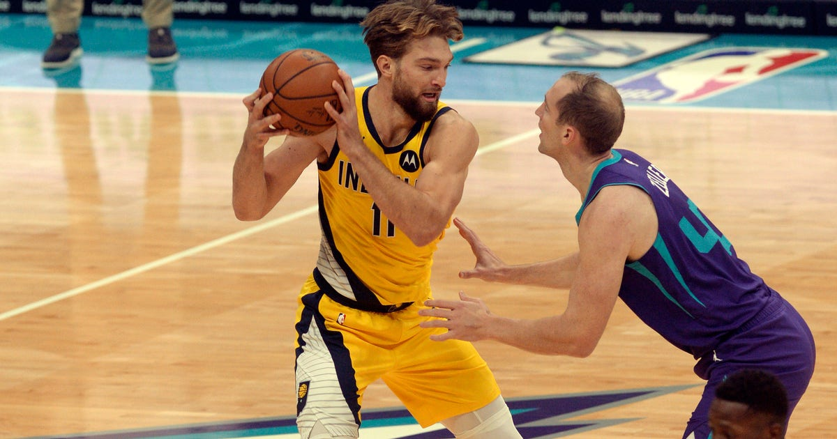 Sabonis posts second triple-double of season as Pacers defeat Hornets 116-106