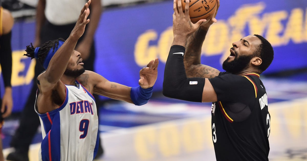 Drummond, Cavaliers take down Pistons 122-10 (WITH VIDEOS)