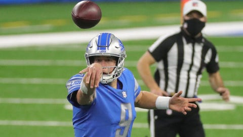 Lions trade Stafford to Rams