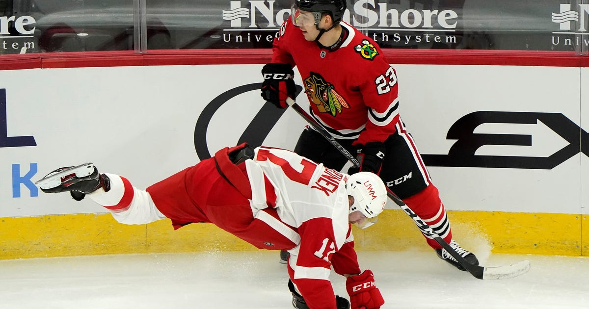Red Wings 0-5 on power play in 4-1 loss to Blackhawks (WITH VIDEOS)