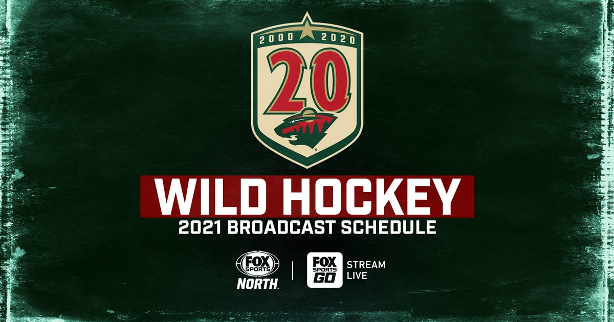 FOX Sports North announces 2021 Minnesota Wild broadcast schedule