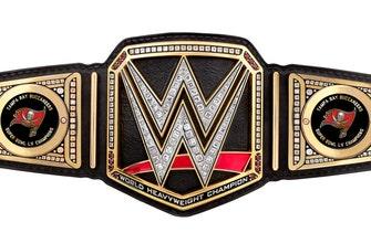 Triple H gifts Tampa Buccaneers custom WWE Title following championship win