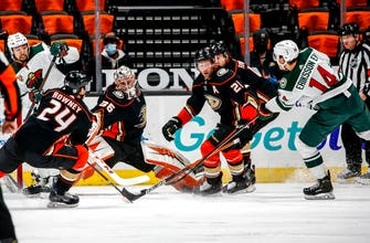Kevin Fiala's 3-point game leads Wild past Ducks 5-1