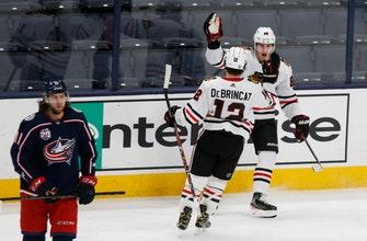 Kane scores again, Blue Jackets shut out by Blackhawks 2-0
