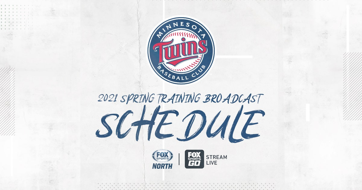 FOX Sports North announces 2021 Twins spring training broadcast schedule