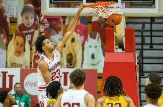 Jackson-Davis collects 20 points, 10 rebounds in Indiana's 82-72 win over Minnesota