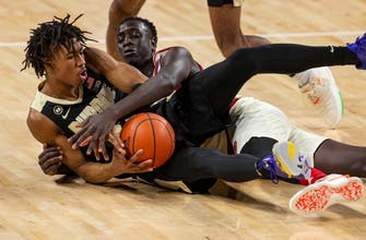 Purdue uses late run led by Ivey, Stefanovic to top Nebraska 75-58