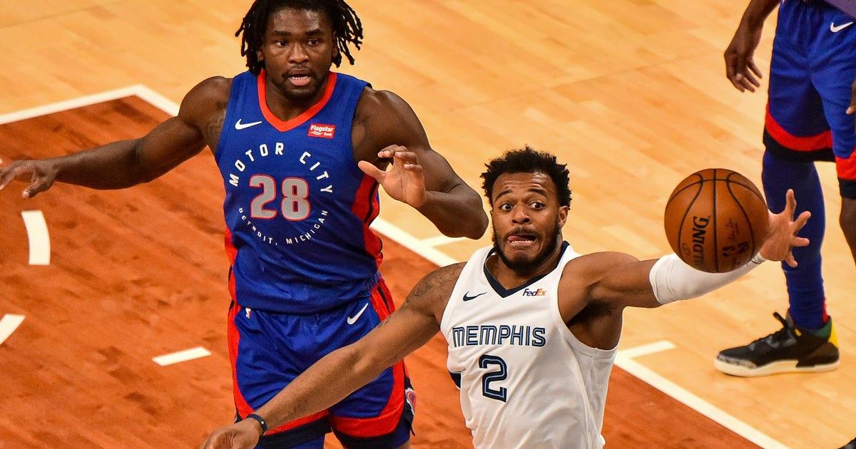Αποτέλεσμα εικόνας για Memphis Grizzlies - Detroit Pistons 109-95