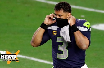 Mark Schlereth breaks down how Russell Wilson is partially to blame for Seahawks' dilemma   THE HERD thumbnail