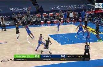 HIGHLIGHTS: Timberwolves 106, Thunder 103
