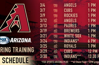 FOX Sports Arizona announces D-backs Spring Training Schedule